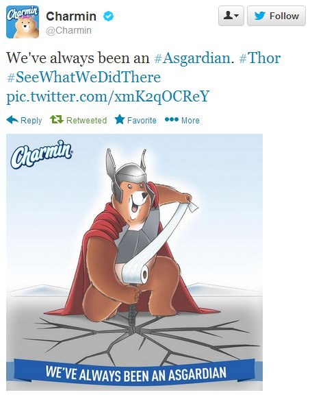 Asgardian. Get it?!