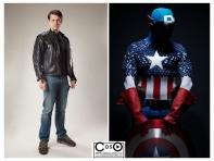 Michael Cox as Captain America
